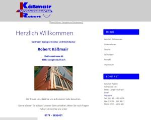 Webseite für einen Handwerksbetrieb erstellt